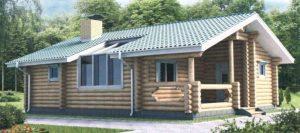 Красивые одноэтажные деревянные дома: проекты в фото