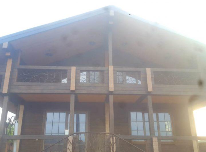 Дом из клееного бруса в ст.Елизаветинская