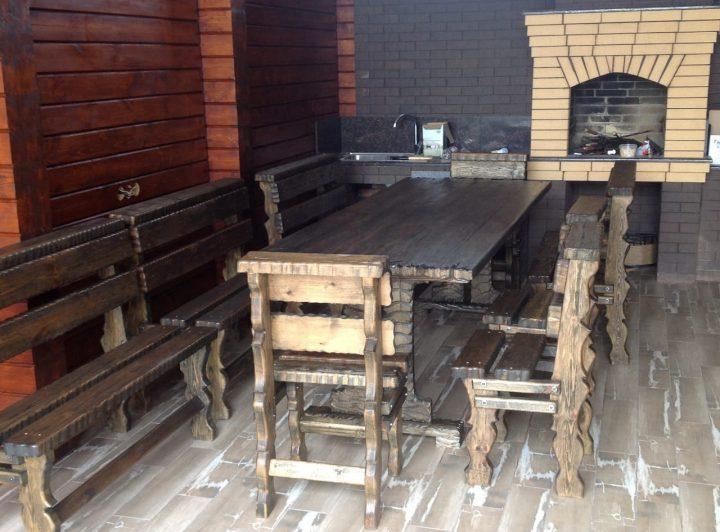 Баня из клееного бруса в Елизаветинской